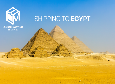 shipping services from UK to Egypt
