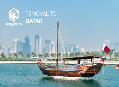 shipping Service from UK to Qatar